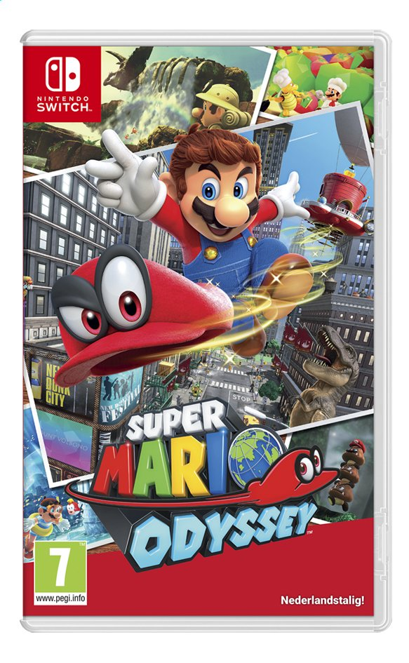Afbeelding van Nintendo Switch Super Mario Odyssey NL from DreamLand