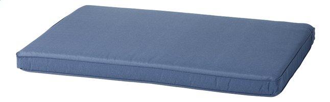 Madison coussin pour palette assise Panama 120 x 80 Bleu Saphir