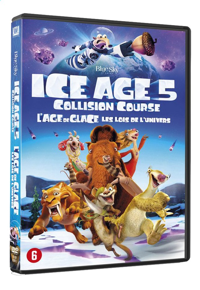 Afbeelding van Dvd Ice Age 5: Collision course from DreamLand