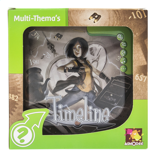 Afbeelding van Timeline Multi-Thema's from DreamLand