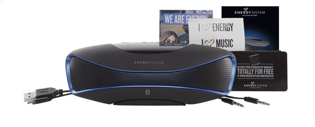 Afbeelding van Energy Sistem luidspreker bluetooth Music Box BZ3 zwart/blauw from DreamLand