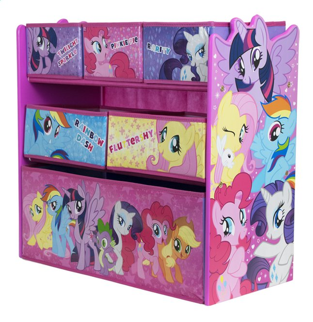 mon petit poney meuble de rangement dreamland. Black Bedroom Furniture Sets. Home Design Ideas