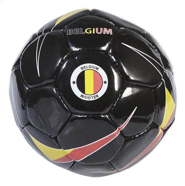 Image pour Ballon de football Belgique noir taille 5 à partir de DreamLand