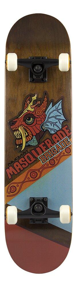Nijdam skate-board Masquerade Brigade Dragon