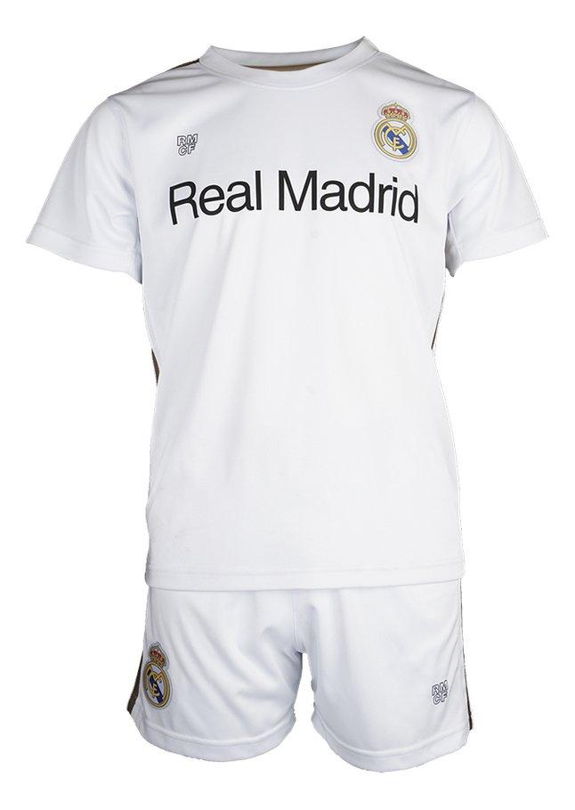 Image pour Tenue de football Real Madrid blanc/or à partir de DreamLand