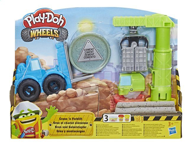 Afbeelding van Play-Doh Wheels Kraan en Heftruck from DreamLand