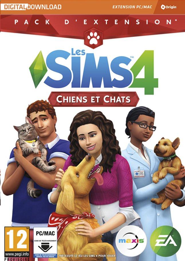 Image pour PC Les Sims 4 chiens et chats pack d'extension FR à partir de DreamLand