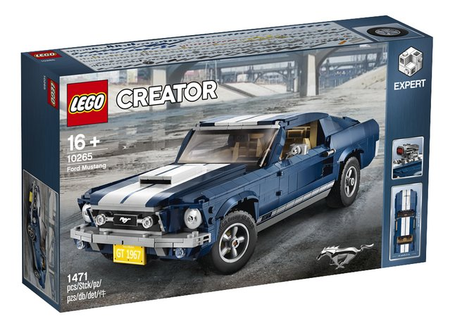 Afbeelding van LEGO Creator Expert 10265 Ford Mustang from DreamLand