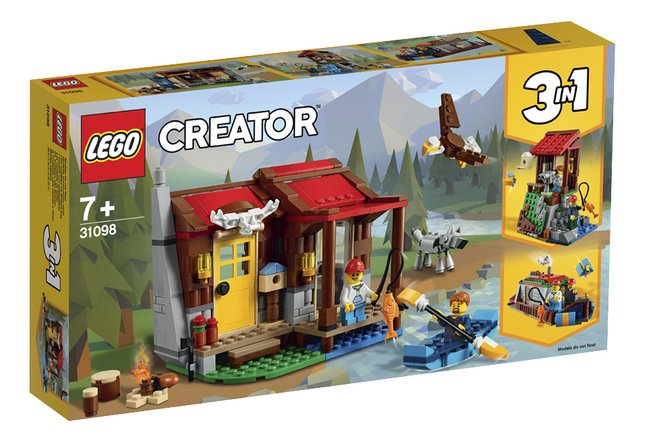 Afbeelding van LEGO Creator 3-in-1 31098 Hut in de wildernis from DreamLand