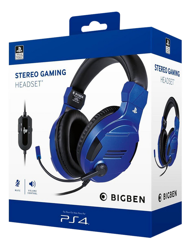bigben casque-micro PS4 Stereo Gaming