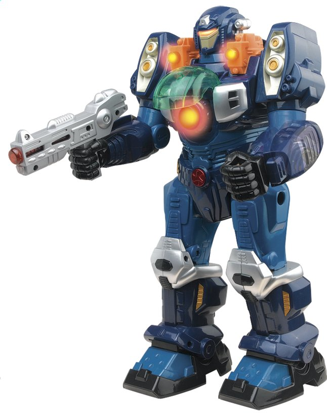 Afbeelding van Robot M.A.R.S. Turbotron blauw from DreamLand