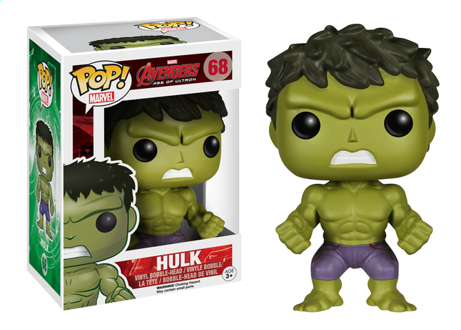 Image pour Funko Figurine Avengers Pop! Hulk à partir de DreamLand