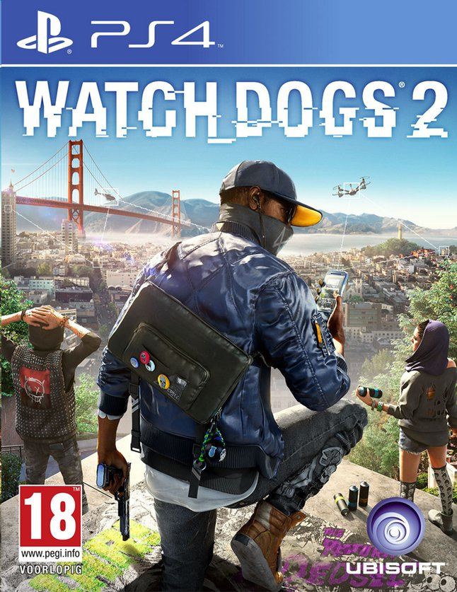 Afbeelding van PS4 Watch Dogs 2 ENG/FR from DreamLand