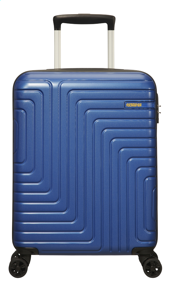 Afbeelding van American Tourister trolley Mighty Maze Navy 55 cm from DreamLand