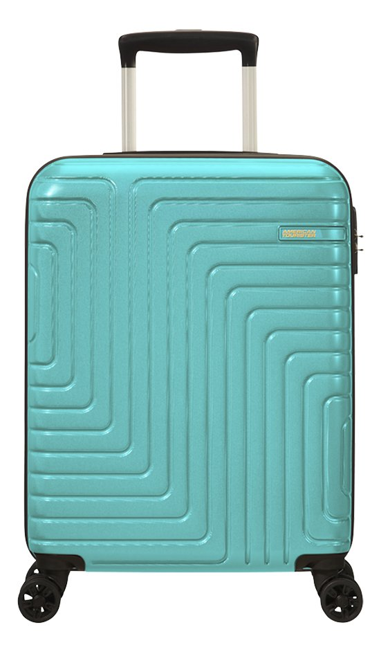Afbeelding van American Tourister trolley Mighty Maze turkoois 55 cm from DreamLand