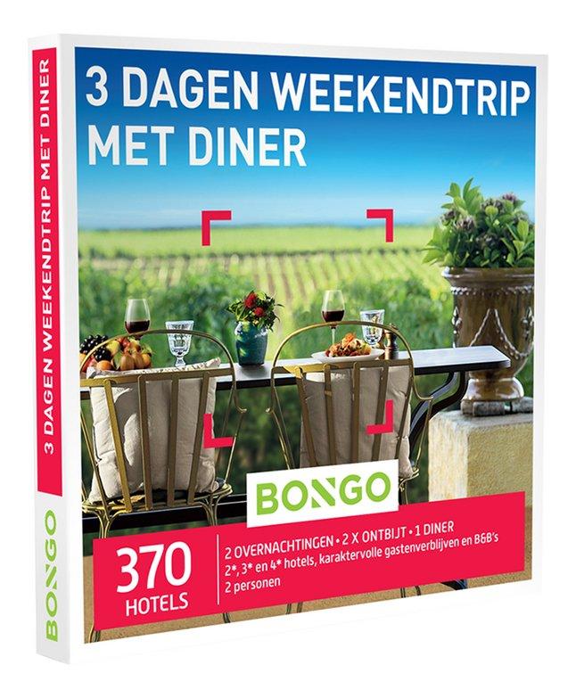 Afbeelding van Bongo cadeaubon 3 Dagen Weekendtrip Diner from DreamLand