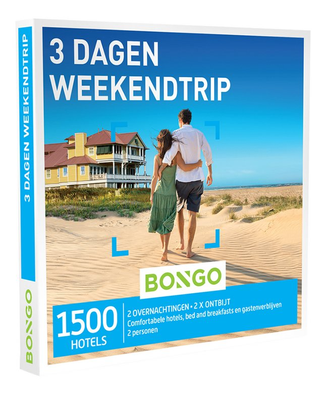 Afbeelding van Bongo cadeaubon 3 Dagen Weekendtrip from DreamLand
