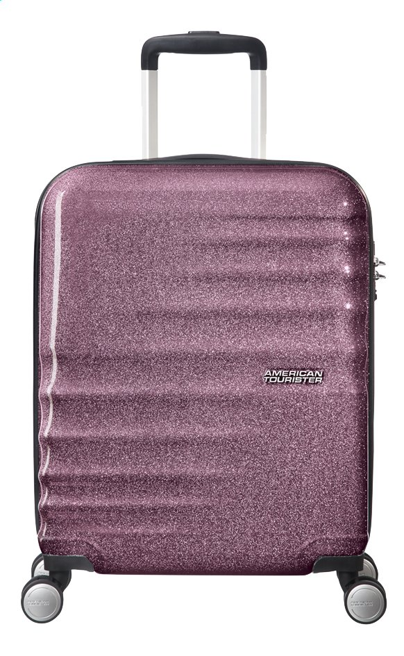 Afbeelding van American Tourister harde reistrolley Wavebreaker Spinner Lilac Sparkle 55 cm from DreamLand