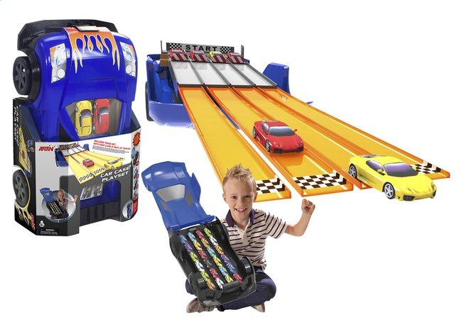 Afbeelding van Artin speelset Car Case playset from DreamLand