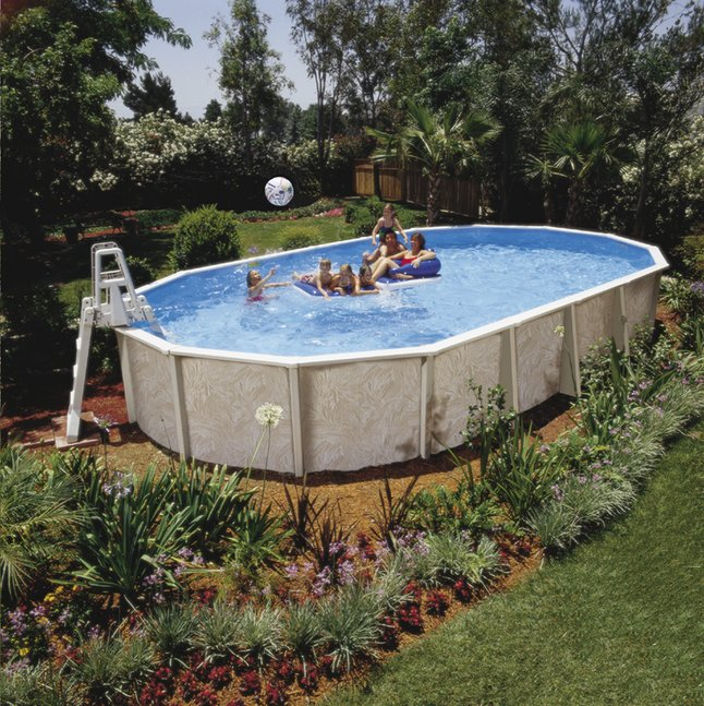 Image pour Interline ensemble piscine Diana L 8,50 x Lg 4,90 m à partir de DreamLand