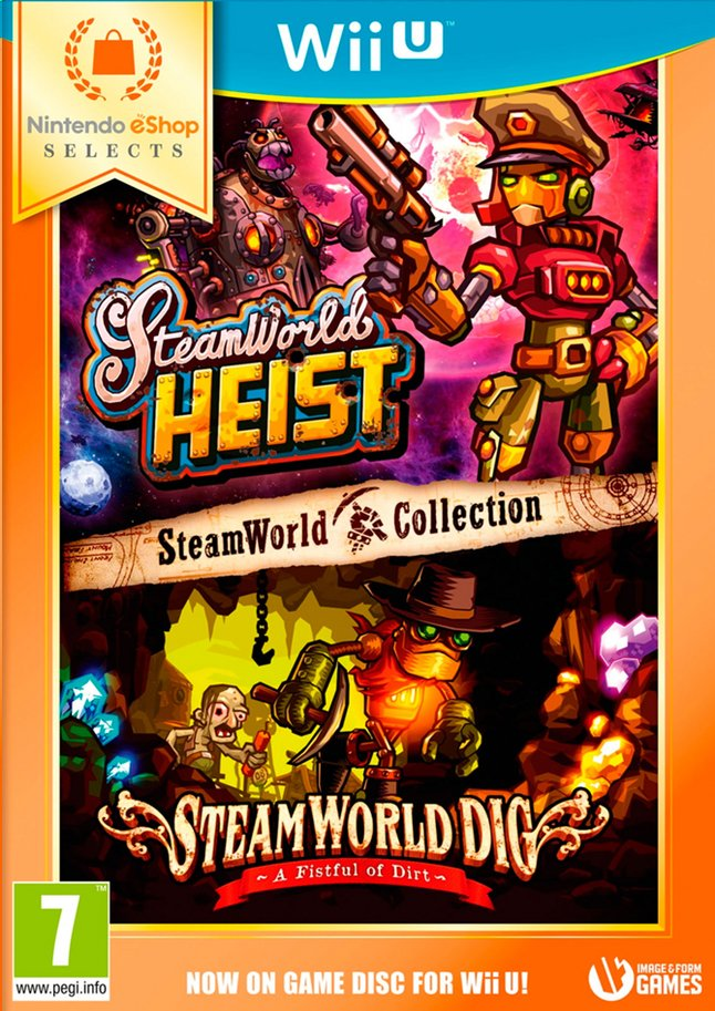 Image pour Nintendo Wii U Steamworld Collection eShop Selects NL à partir de DreamLand
