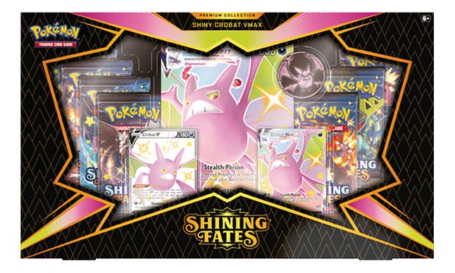 Pokémon TGC Sword & Shield 4.5 Shining Fates Premium Collection - Crobat VMAX ANG