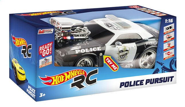 Afbeelding van Hot Wheels auto RC Police Pursuit from DreamLand