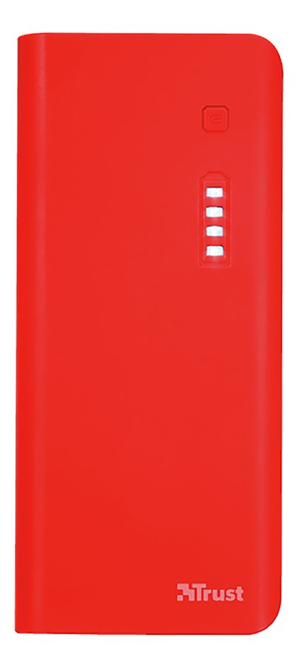 Trust Powerbank Primo 10 000 mAh rouge
