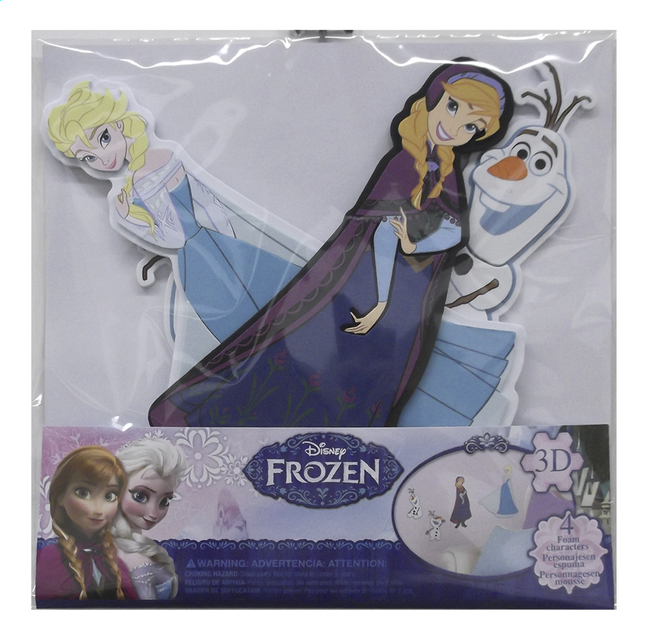 Afbeelding van Muurstickers Disney Frozen Elsa, Anna en Olaf from DreamLand
