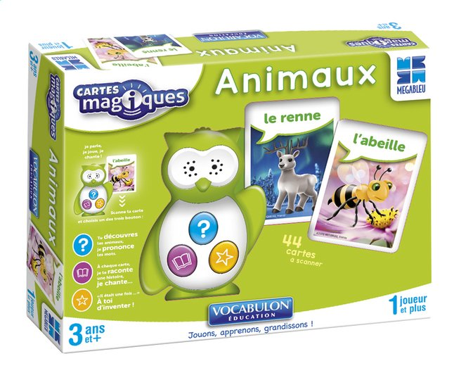 Afbeelding van Cartes Magiques - Animaux FR from DreamLand