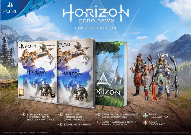 Image pour PS4 Horizon Zero Dawn Limited Edition FR/ANG à partir de DreamLand