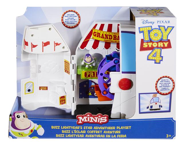 Set de jeu Toy Story 4 Buzz l'Éclair Coffret Aventure