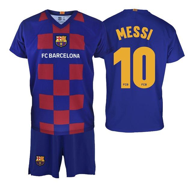 Tenue de football FC Barcelona Home Messi 10