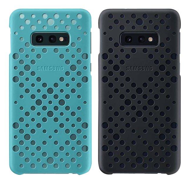 Image pour Samsung coque Pattern pour Galaxy S10e noir/vert à partir de DreamLand