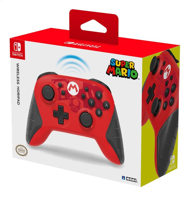 great quality best wholesaler first look Hori manette sans fil Horipad Super Mario Edition pour Nintendo Switch