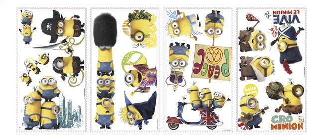 Afbeelding van Muurstickers Minions The Movie from DreamLand