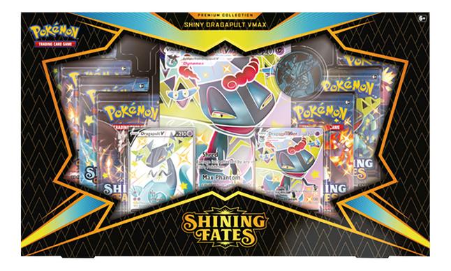Pokémon TGC Sword & Shield 4.5 Shining Fates Premium Collection - Dragapult VMAX ANG