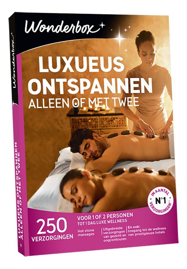 Afbeelding van Wonderbox Luxueus Ontspannen Alleen Of Met Twee from DreamLand