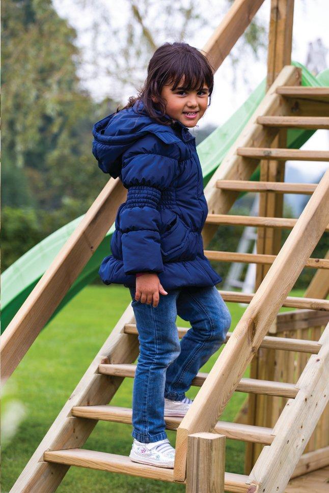 Image pour BnB Wood escalier avec rampes pour Nieuwpoort/Goal/Fireman à partir de DreamLand
