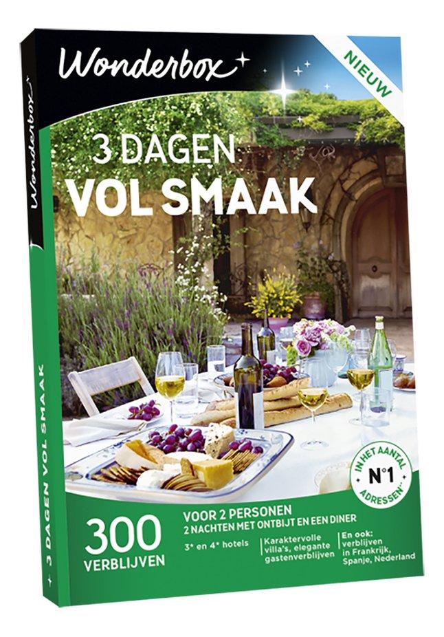Afbeelding van Wonderbox 3 Dagen Vol Smaak from DreamLand