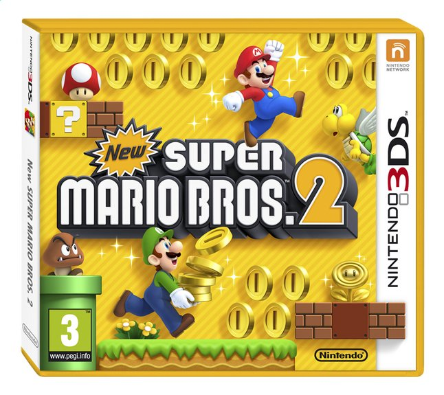 Nintendo 3DS New Super Mario Bros.2 FR