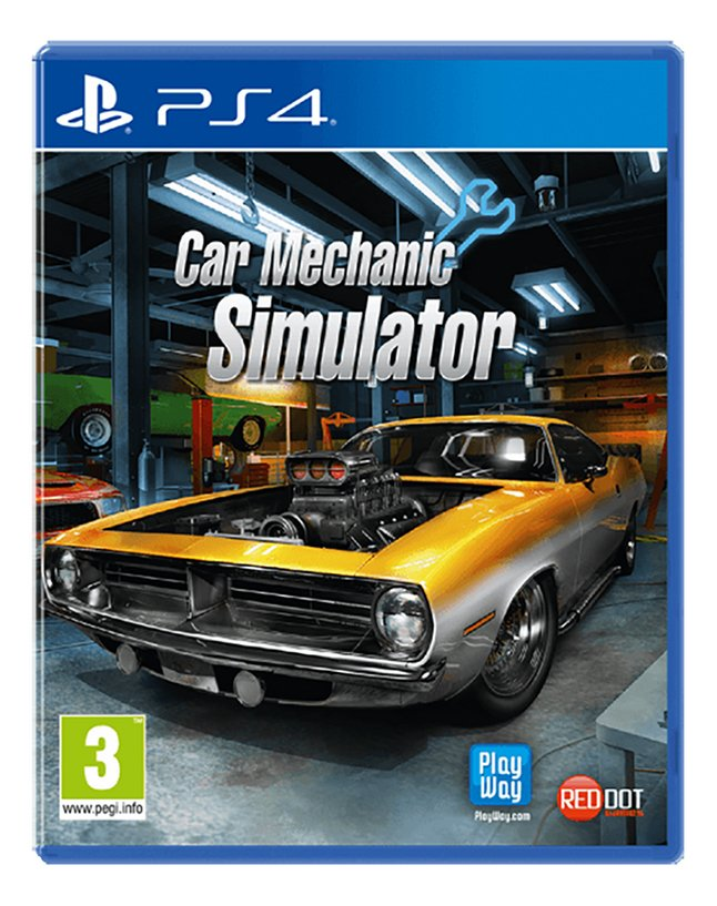 PS4 Car Mechanic Simulator ENG/FR