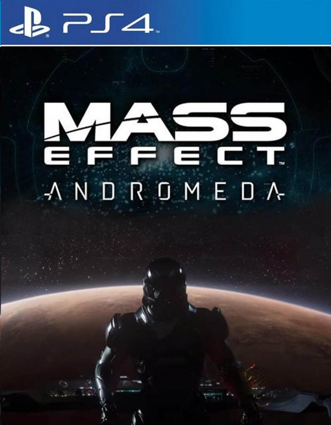 Image pour PS4 Mass Effect: Andromeda FR/ANG à partir de DreamLand