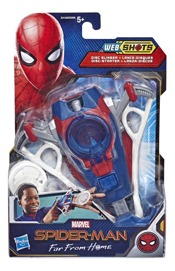 Speelset Spider-Man Far From Home Web Shots Disc Slinger