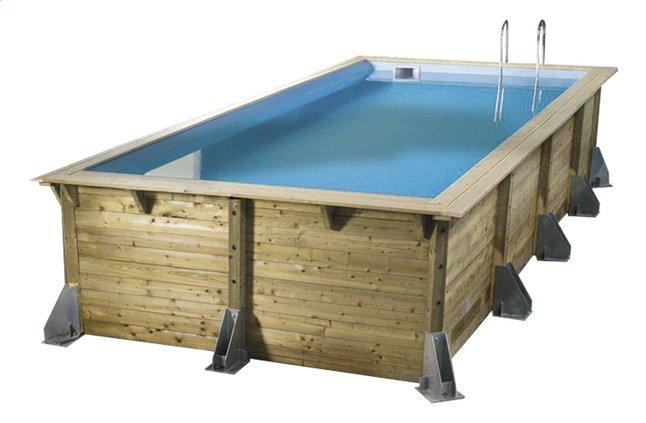 Afbeelding van Ubbink houten zwembad Linea 3,50 x 5,05 m from DreamLand