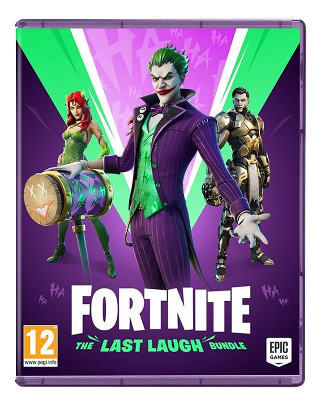 Xbox One Fortnite - The Last Laugh Bundle - Code in a Box ENG/FR