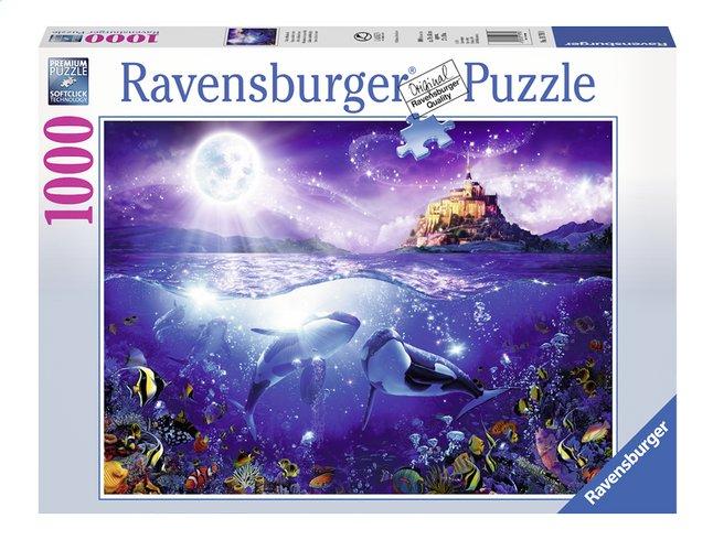 Afbeelding van Ravensburger puzzel Walvissen in de maneschijn from DreamLand