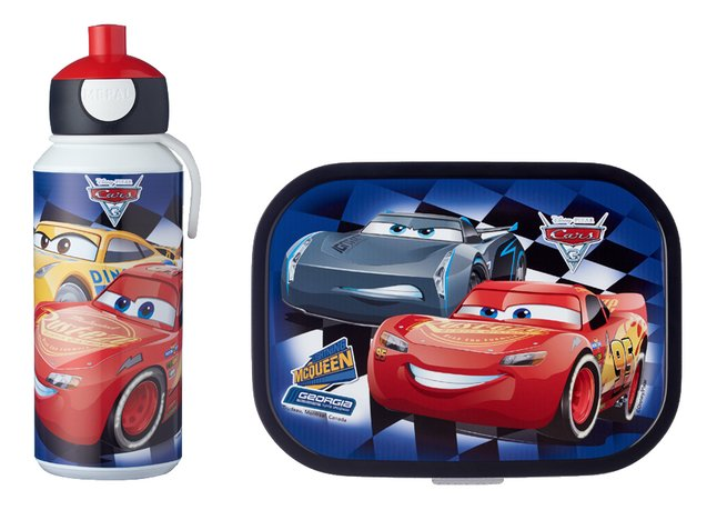 Afbeelding van Mepal brooddoos en drinkfles Campus Disney Cars from DreamLand