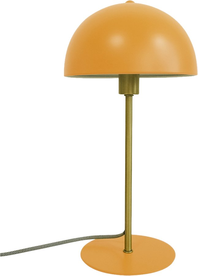 Leitmotiv tafellamp Bonnet curry geel