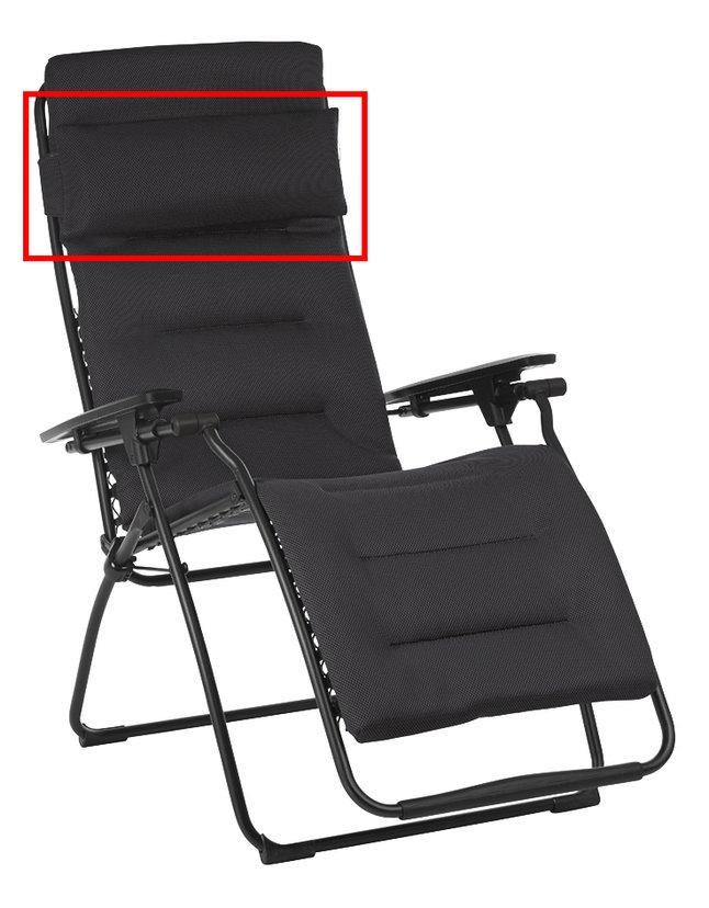 Lafuma hoofdkussen voor relaxzetel Futura/Futura XL Air Comfort acier